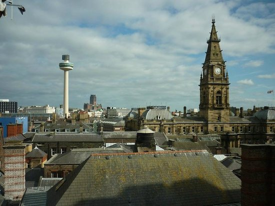 PREMIER SUITES Liverpool : Quite a lovely view from the rooms, though