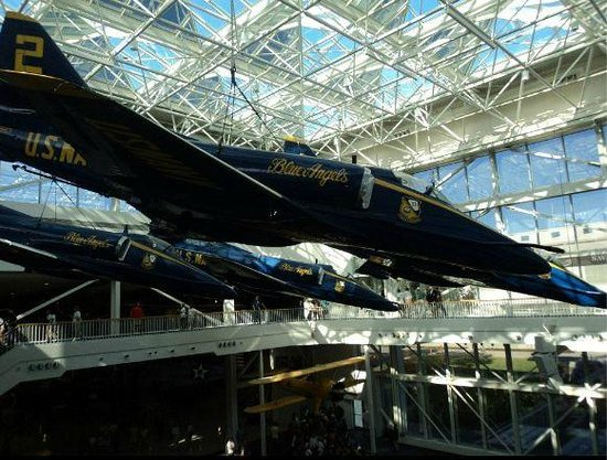 Pensacola Naval Air Station: Inside the museum