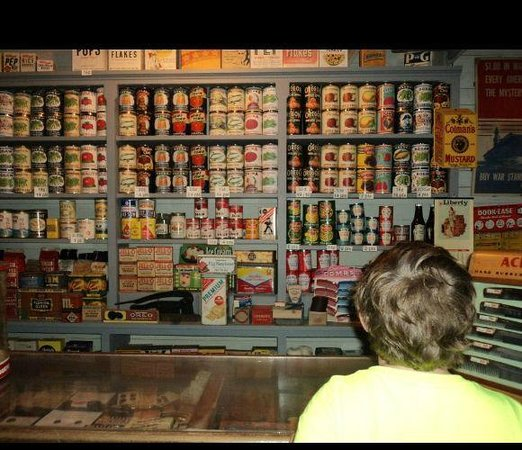 Pensacola Naval Air Station: A retro grocery store