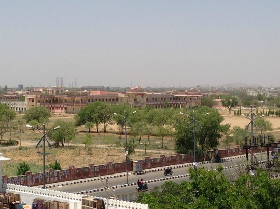 Heritage Khandwa Haveli Hotel: View from room on fourth floor