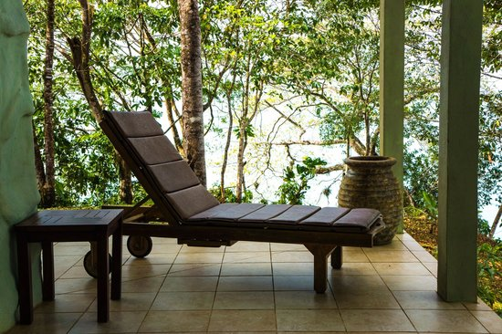 Popa Paradise Beach Resort: on the porch of junior suites