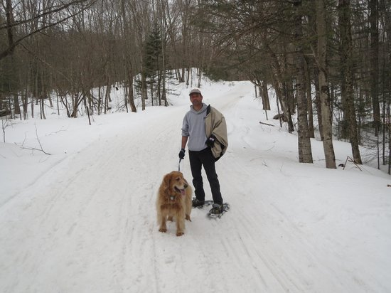 The Mountain Top Inn & Resort: Snow-shoeing
