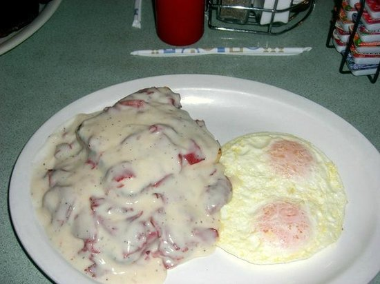 Jan's Family Restaurant and Lounge: SOS and Eggs