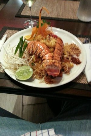 Million Thai Restaurant: Pad Lobster