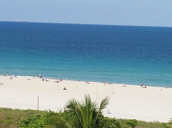 Marriott Stanton South Beach: view from our balcony