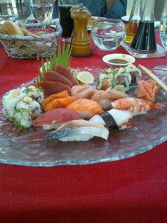 Cilantro: sushi & sashimi platter