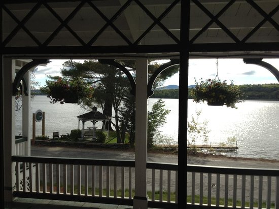 The Lake House at Ferry Point: View from the Lake House dining room