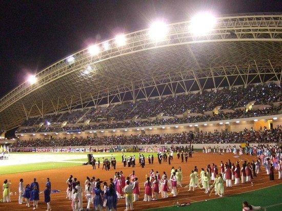 Estadio Nacional: de noche... algo alusinante!
