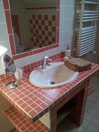 Ferme du Genièvre : Salle de bains
