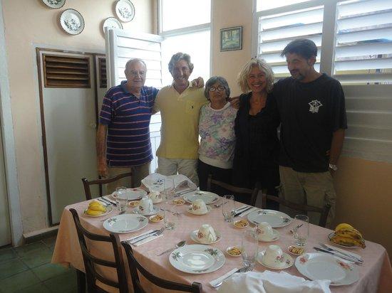 Hostal Venecia: Con Remberto e Mercedes