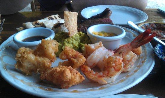 Langosteria Maya Restaurant : Lobster and Shrimp