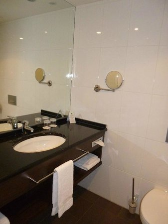 Lindner Hotel & City Lounge Antwerpen: Bad