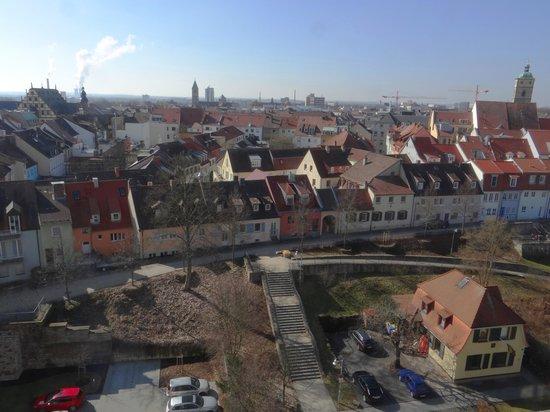 Panorama Hotel Schweinfurt: Aussicht von der Lobby