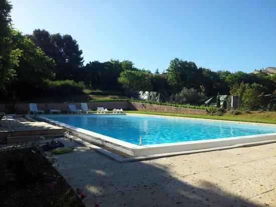 Les Chenes Verts : La piscine