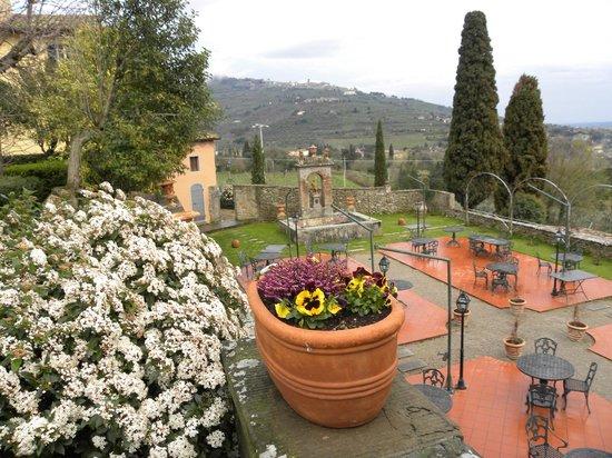Relais Il Falconiere & Spa: panorama