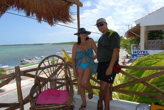 Hotel Punta Ponto: Saludos a todos