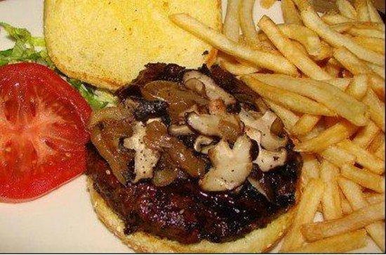 Picharditos: Hamburguesa con Hongos