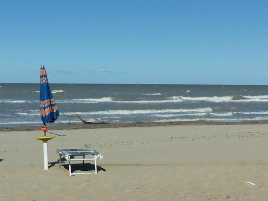 Hotel Miramare: la spiaggia dell'hotel