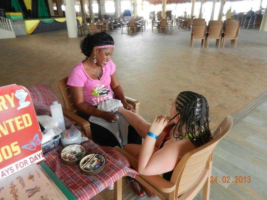 Sunscape Splash Montego Bay: Temporary tattoos