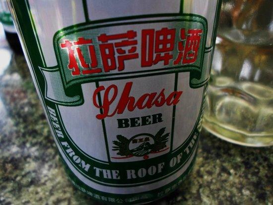 Namaste Restaurant : Lhasa Beer