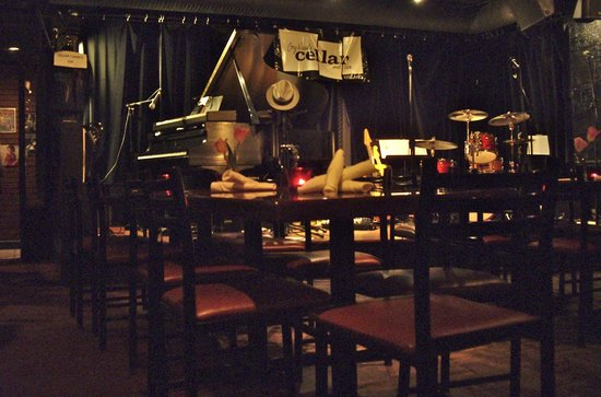 Cellar Jazz Club: The stage