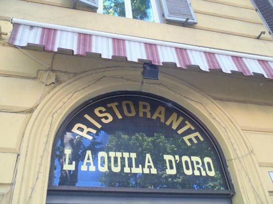 L'Aquila D'Oro : front