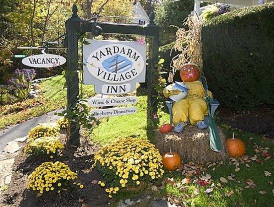 Fall is beautiful at Yardarm Village Inn