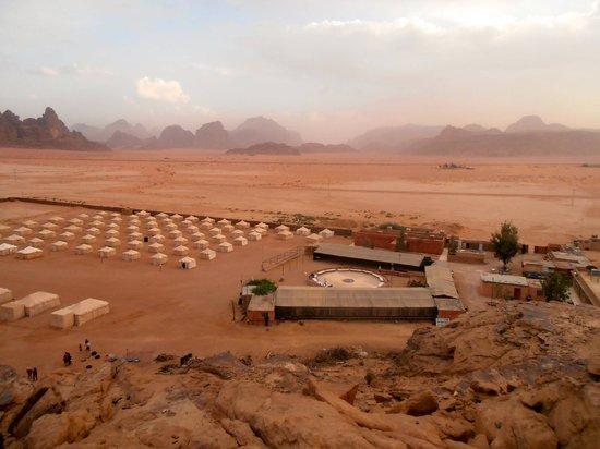 Jabal Rum Camp: il panorama