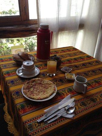 Casa de Mama Cusco: desayuno at Casa de Mama