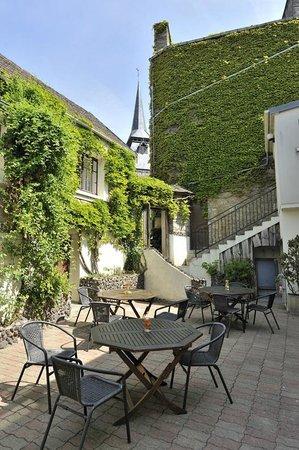 Au Site Normand Hotel-Restaurant: TERRASSE