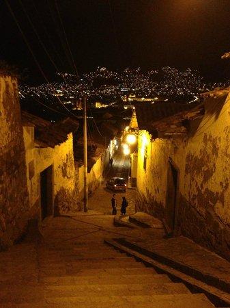 Casa de Mama Cusco-The Treehouse: Streets in San Blas near Casa de Mama