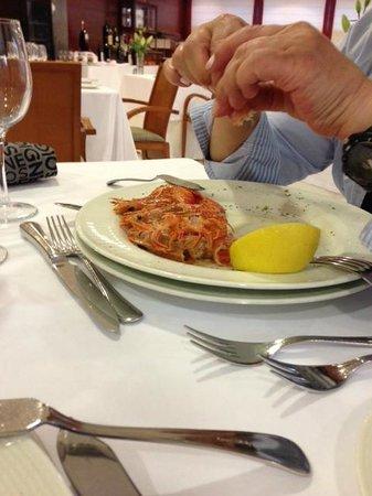 Hotel Carlos I Silgar: Cena