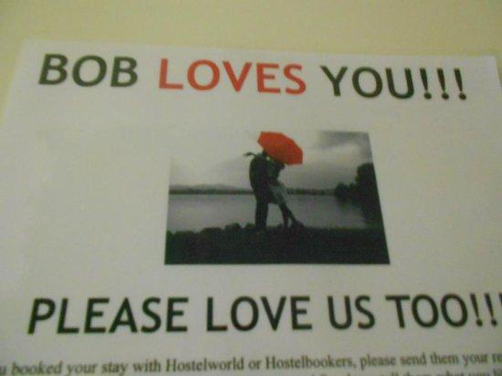 Bob's Youth Hostel: Bob