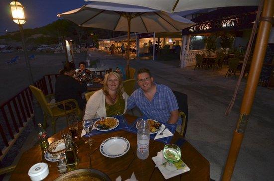 El Puerto: Table on the terrace
