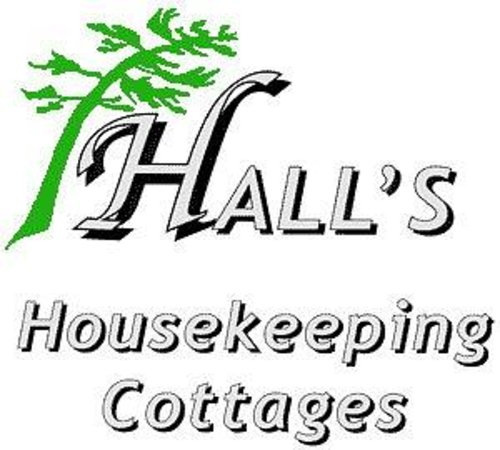 Hall's Housekeeping Cottages: Logo