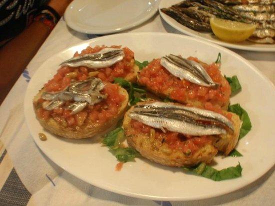 Tasomanolis : bruschette