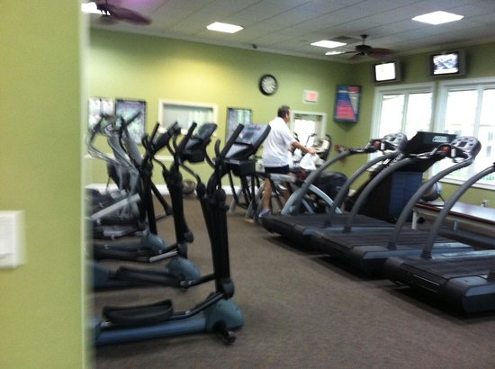 Hilton Head Health: Cardio room