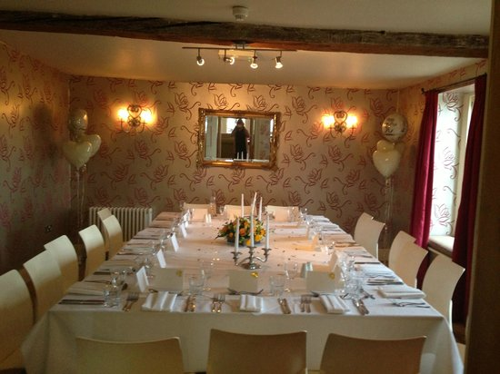 Fritton Arms Hotel: Private Dining Room