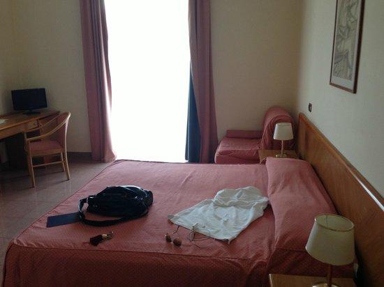 Pamaran Hotel: La chambre