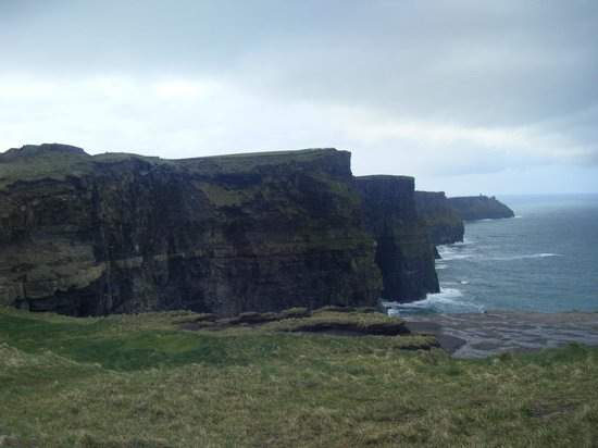 Liscannor, Ireland: view of the Cliffs