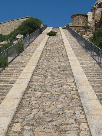 La Fortezza di Monte Altura: SCALE