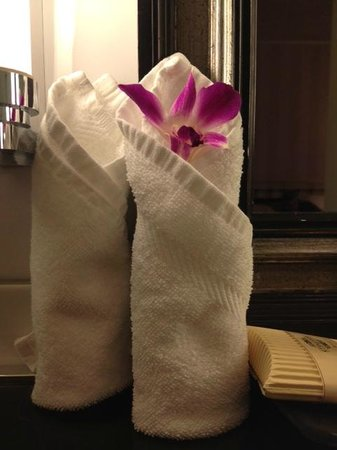 Small Luxury Hotel Ambassador a l'Opera: Example of attention to detail in bathroom