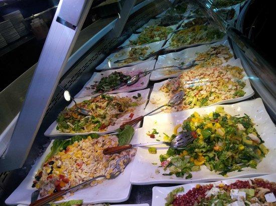 Goodies Restaurants: Salad options available