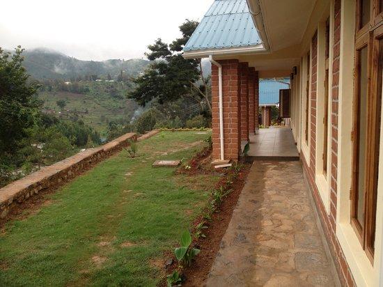 Avocado Lodge: View of the front veranda