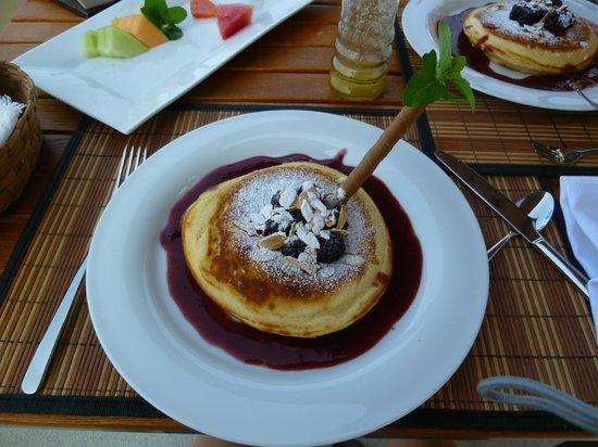 Hotel Cinco Sentidos: banana pancake