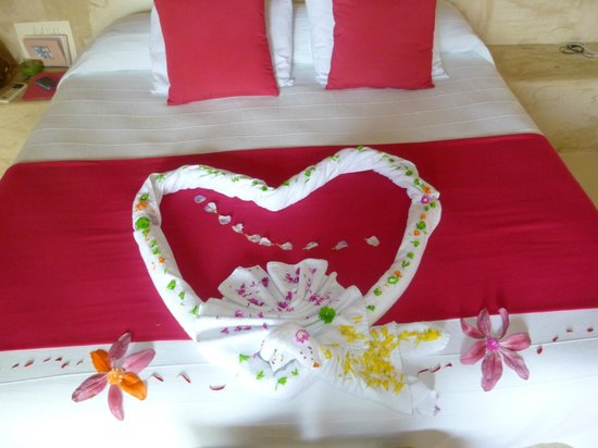 Hotel Cinco Sentidos: Judith's creation