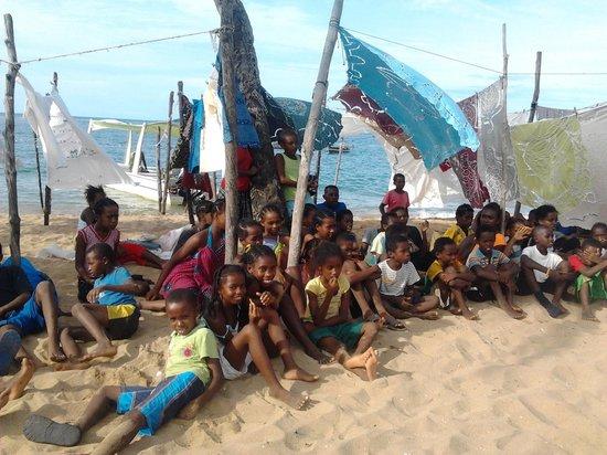 Sambatra Bed & Breakfast: i bambini di Nosy Comba