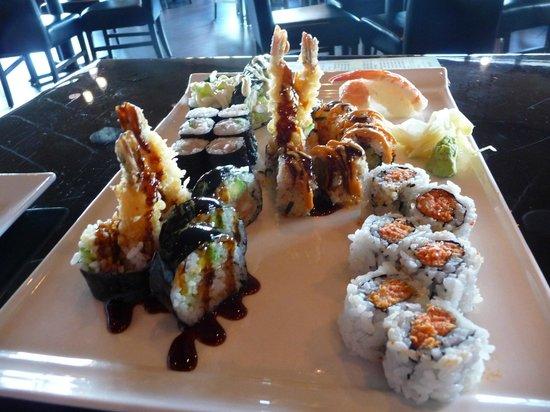 Osaka sushi & hibachi: Great rolls - a huge variety