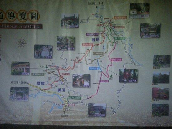Lion's Head Mountain trekking route