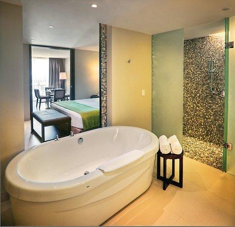 Azul Beach Hotel: Honeymoon Suite Bath